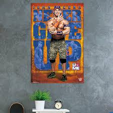 Trends International Wwe John Cena 17 Paper Print Wayfair