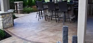 garage floor concrete finish