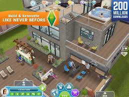 the sims freeplay on the app