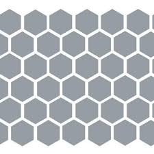 Peel And Stick Hexagon Wall Decal Sticker Db345 Designedbeginnings