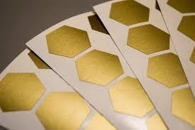 30 Hexagon Stickers Honeycomb Vinyl Wall Decal Honeycomb Etsy