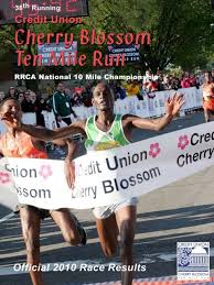 to download the 2010 Results Book - Credit Union Cherry Blossom