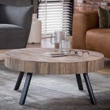 Modern Couchtisch Holz Rund