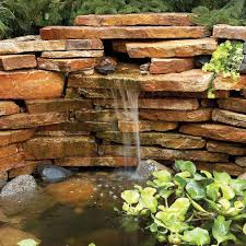 pond founn and waterfall projects