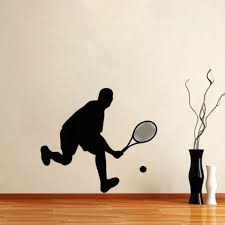 Tennis Wall Sticker Window Sports Posters Vinyl Wall Decals Home Decoration Decor Mural Tennis Car Decal Tennis Tights Tennis Bagsticker Wall Aliexpress