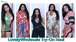 lovelywhole clothes try on haul