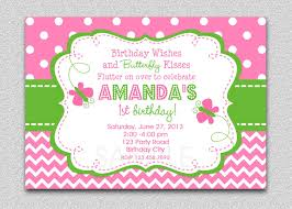 Butterfly Birthday Invitation Butterfly Birthday Party Invitation