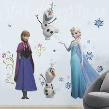 Bumper Frozen Decal Set Disney Elsa Anna Olaf Frozen Wall Decals