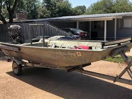 duck boat pro drive mud motor w boat