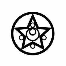 Sailor Moon Logo Vinyl Decal Sticker