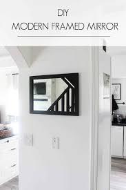 make your own custom framed mirrors