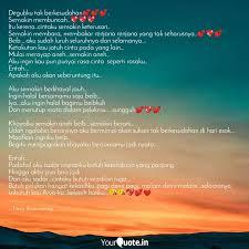 degubku tak berkesudahan� quotes writings by neyy