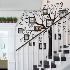 Staircase Family Tree Wall Decal Tree Wall Decal Simple Shapes