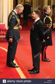 Classical countertenor Iestyn Davies is made an MBE by the Prince of Stock  Photo - Alamy