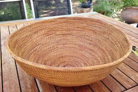 large table balinese basket round bola