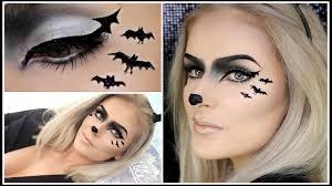 easy bat makeup y cute halloween