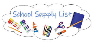 Supply Lists - Gregory-Portland Independent School District