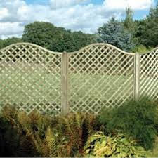 Omega Lattice Arched Trellis Fence Panel 1 8m From Wooden Supplies Uk Wooden Supplies
