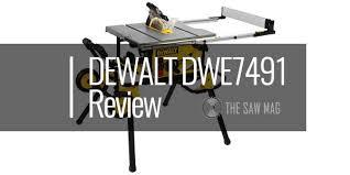 Dewalt Dwe7491rs Review 10 Jobsite Table Saw