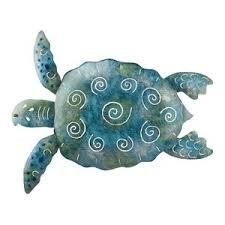 sea turtle wall decor group of five