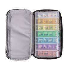 23434 7 day pill organizer with carry
