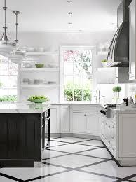 kitchen white kitchen with dark island