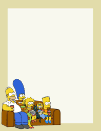 The Simpsons Blank Sheet Free To Use And Free To Share For