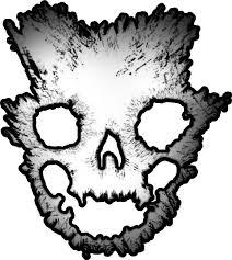 Halo Emile Skull Helmet Decal Sticker 09