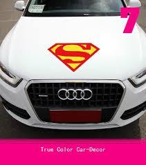 Superman Car Hood Decals