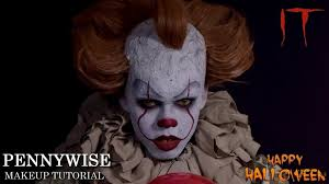 it pennywise the clown makeup tutorials