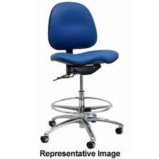 7000 series grey vinyl cleanroom chair