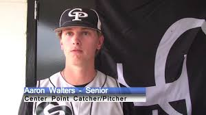 Center Point Pitcher Aaron Walters Top 5 Nationally Ranked Batting Avg,  Home Runs, OPS, SLG - YouTube