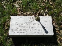 Richard Wesley Walters (1821-1887) - Find A Grave Memorial