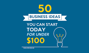 50 self employed business ideas you can