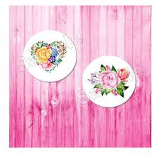 Set Of 2 Pop Socket Label Decal Stickers Flowers Graphic Designs 2 Labels For The Price Of One By Favortagz Catch My Party