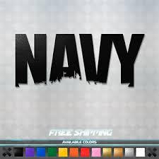 Us Navy Ship Vinyl Decal Sticker American Military Car Window Truck Patriotic Ebay