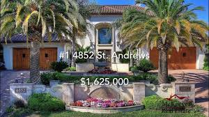 the top 5 most expensive sold homes of
