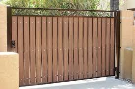 Iron Wood Gates Phoenix Sun King Fencing Gates