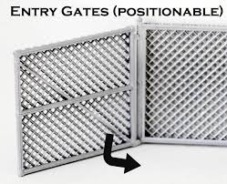 S Scale Detail Chain Link Fence Gates