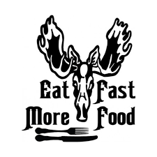 Eat More Fast Food 4 Decal Sticker