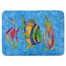seaweed memory foam bath rug