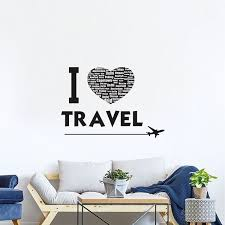 Cr 82014 Travel Wall Quote Decals By Crearreda