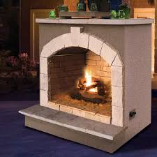cal flame porcelain gas outdoor