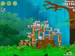Angry Birds Rio Gear #1 Walkthrough Level 2
