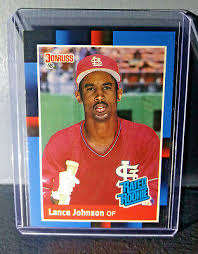 1988 Lance Johnson Donruss Rated Rookie #31 Baseball Card | eBay