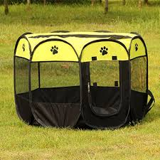 Petminru Portable Folding Dog House Pet Tent Cage Dog Cat Tent Puppy Kennel Octagonal Fence Outdoor Pet Supplies Puppy Kennel Cat Tentdog House Aliexpress