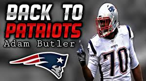 Patriots place 2nd Round Tender on DT Adam Butler - YouTube