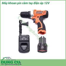 Máy khoan pin mini cầm tay điện áp 12V