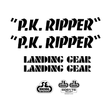 Se Bikes Pk Ripper Decal Sticker Set City Grounds