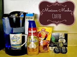 mexican mocha coffee using your keurig